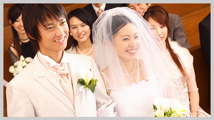 年賀状 結婚